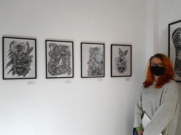 """Teilnahme an der Gruppenausstellung """"Unlocked Art - In Memory of Freedom"""""""