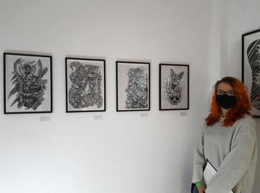 """Gruppenausstellung von Tätowierern des """"Tätowierkunst e.V."""" -  """"Unlocked Art - In Memory of Freedom"""""""