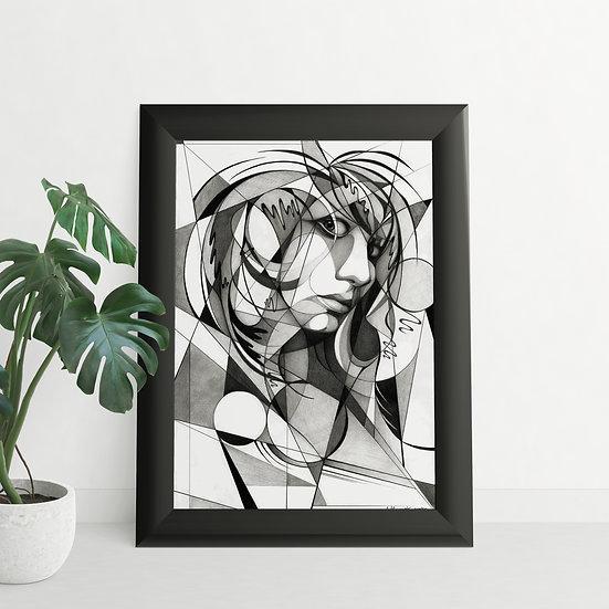 Fine Art Print - Selbstporträt