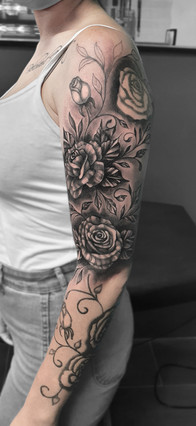 Cover-Up / Touch-Up / 1. Sitzung