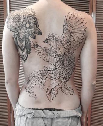 Phönix Tattoo