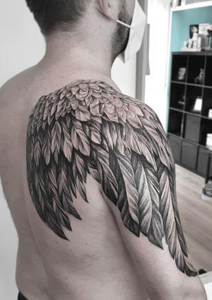 Flügel-Tattoo / Wing Tattoo