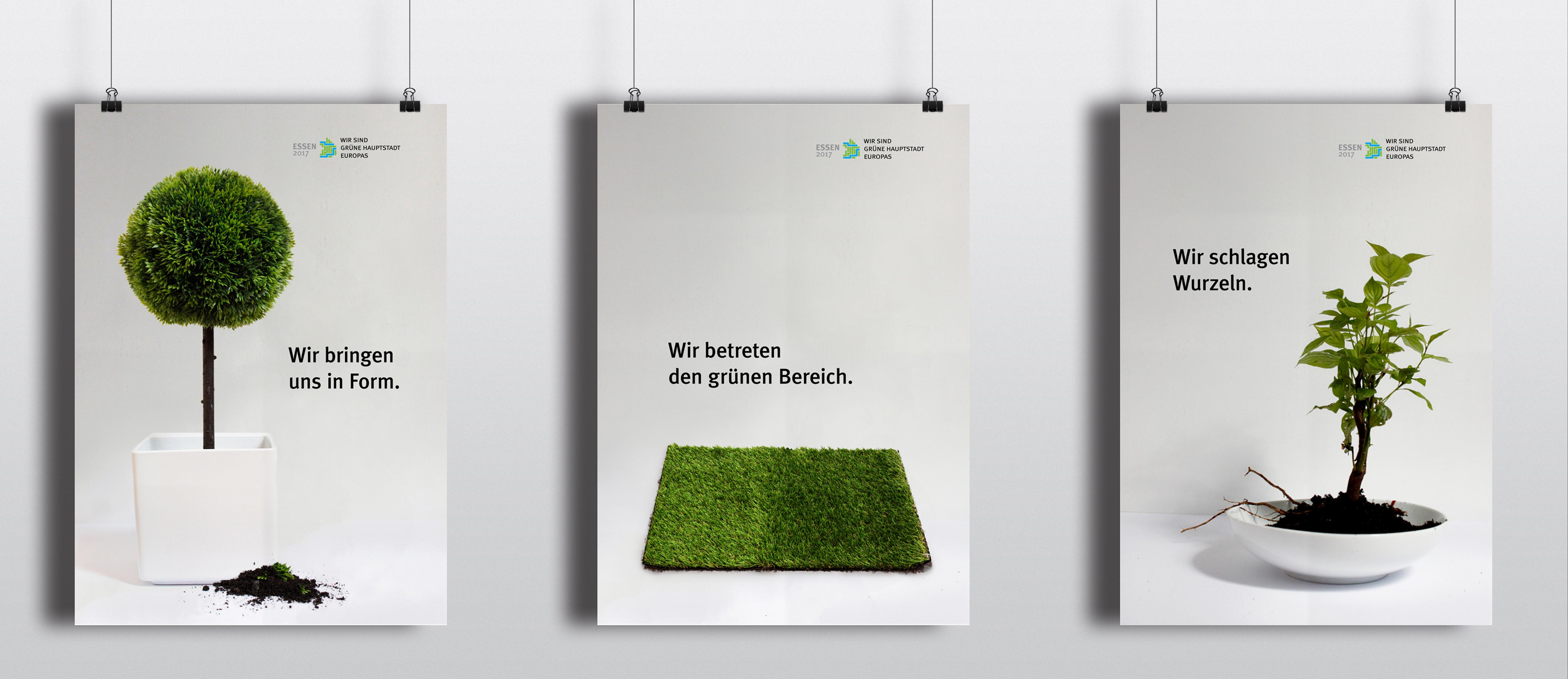 "Plakatwettbewerb - ""Grüne Hauptstadt Europas"" - 2017"