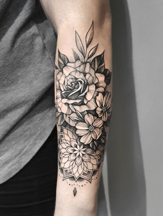 Blumen & Mandala