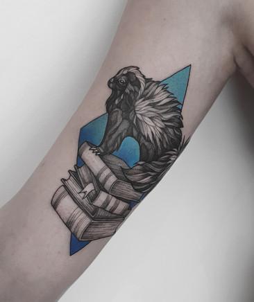 Skunk Tattoo / Stinktier Tattoo