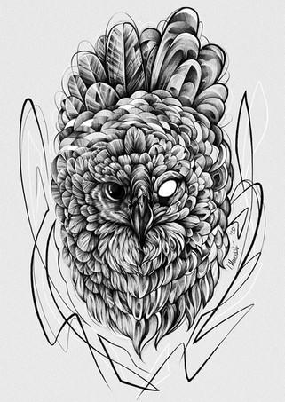 Harpyie - Zeichnung / 2020