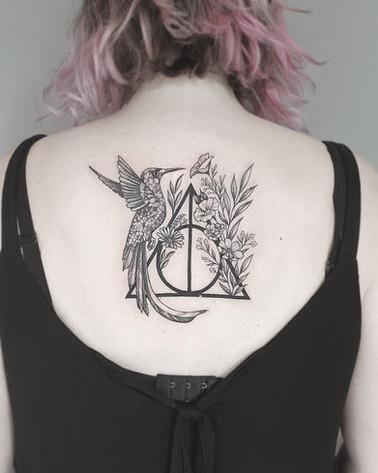 Harry Potter / Kolibri Tattoo