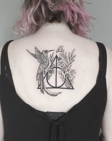 Harry Potter / Kolibri Tattoo