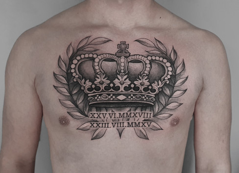 Queen-Krone Tattoo