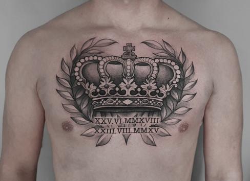 Queen-Krone Tattoo