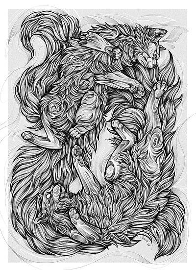 Fine Art Print - Ragdolls
