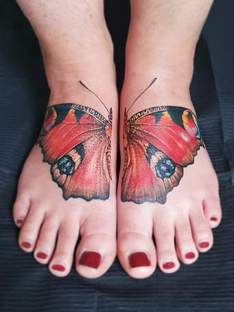 Tagpfauenauge Tattoo