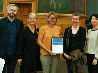 Ós Pressan receives Menningarnótt grant