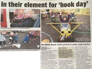 Burchetts Green School Visit