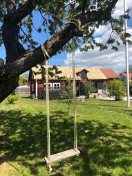 Trädgård och lada - Visby