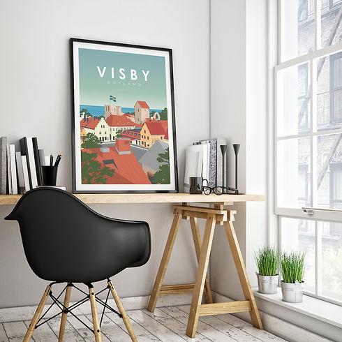 Visby Poster gotland .jpg