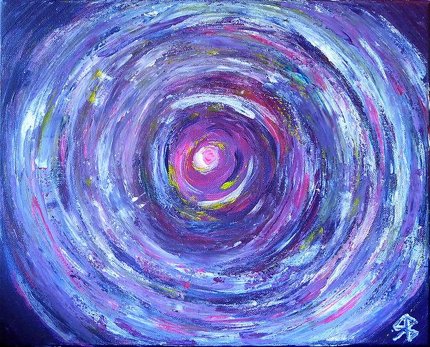 vortex - peinture intuitive