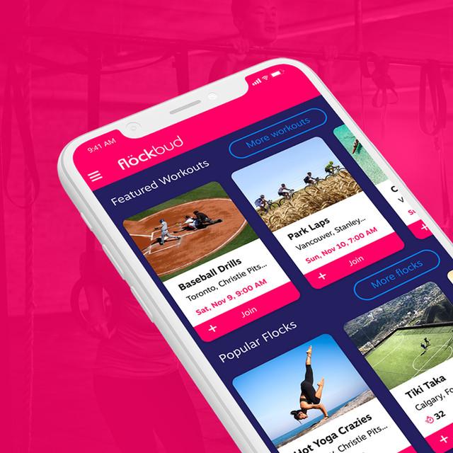 Flöckbud Sports App