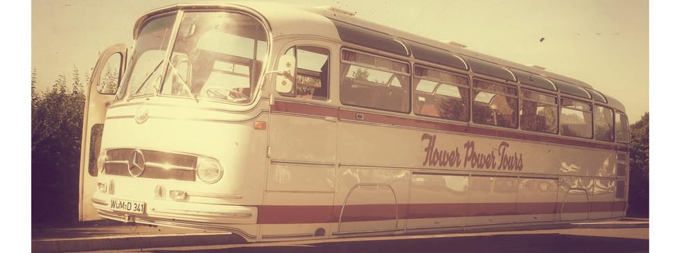 Flower Power Hover Bus