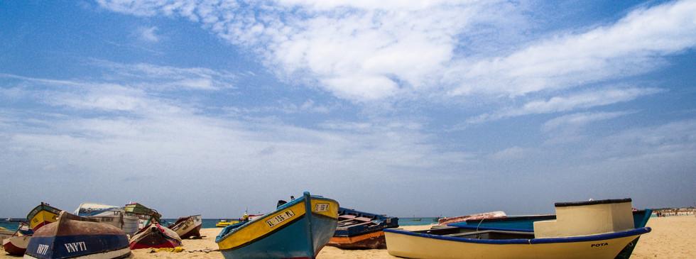 Fischerboote auf Sal