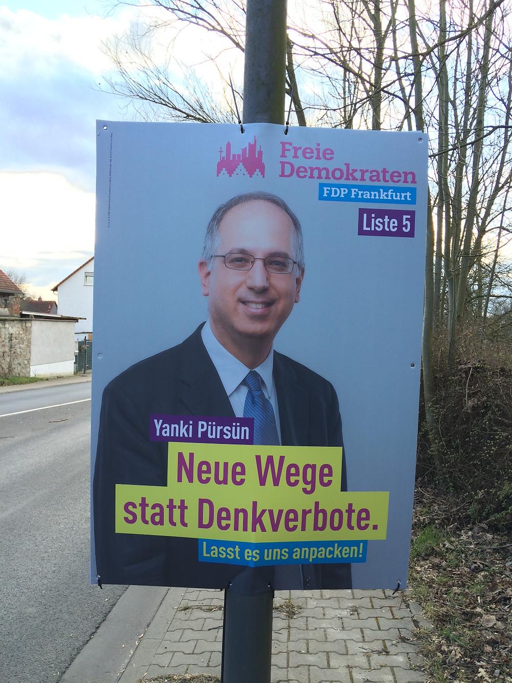 FDP Frankfurt: Yanki Pürsün