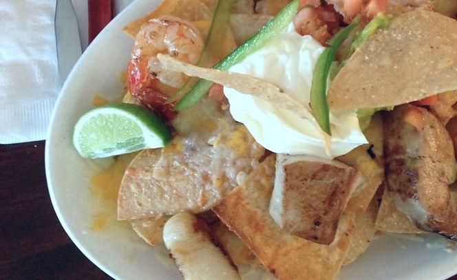 Seafood Nachos (Monico's Taqueria Mexican Food)