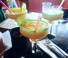 Passion Fruit Margarita's (Monico's Taqueria Mexican Food)