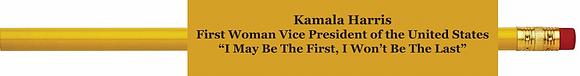 Kamala Harris Pencil Set