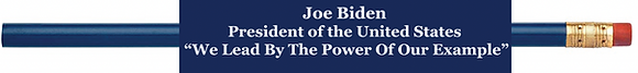 Joe Biden Pencil Set