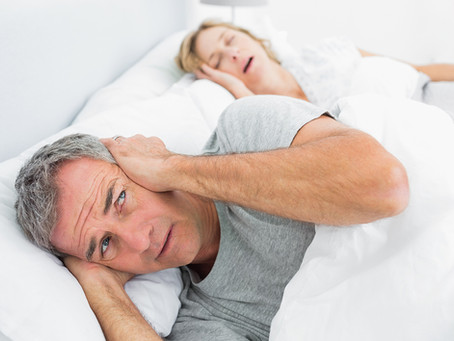 Found out you snore during the lock-down? Let's get that sorted for you!
