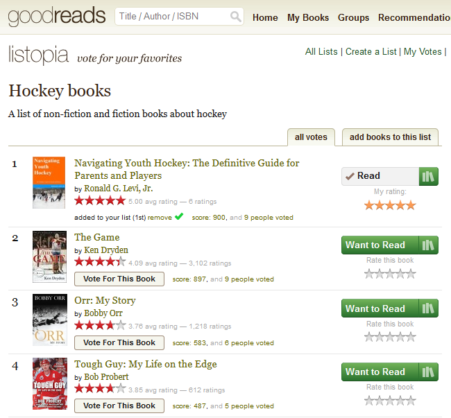 GoodReads Number One.PNG