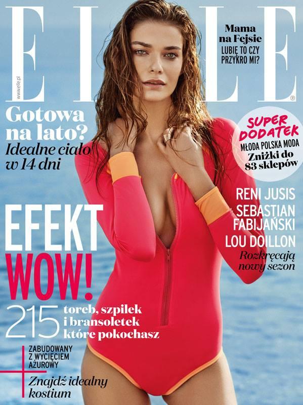 Drivemebikini on the cover of Elle magazine!!!!