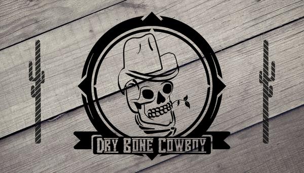 Dry Bone Cowboy Business Card V2 NO BORD