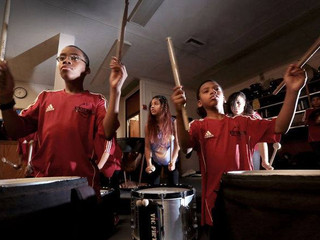Black Star Drum Line taps into drum corps history