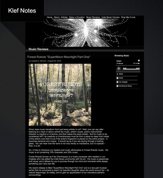 """Supermoon Moonlight Part One"" Featured On Klef Notes"
