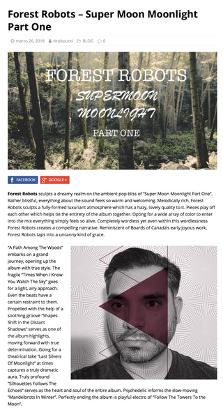 """Supermoon Moonlight Part One"" Album Feature On Beach Sloth"