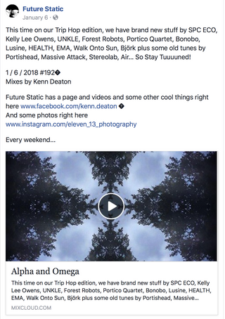 """Shapes Shift In The Distant Shadows"" Single Showcased In Future Static's Show Alpha a"