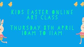 Kids Easter Online Art Class