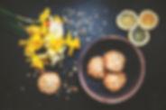 Cookies et Fleurs