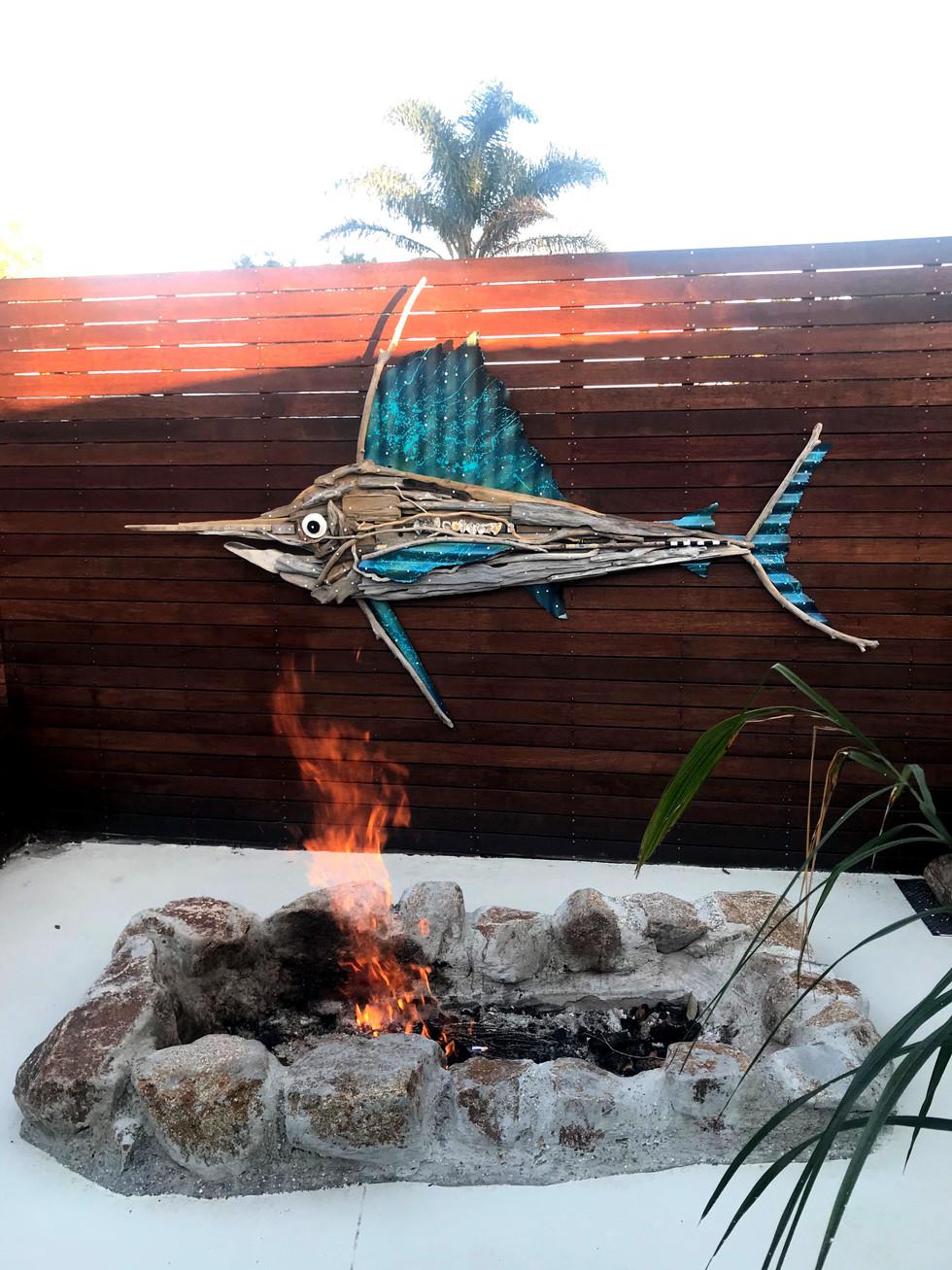 Charles Wilcox Driftwood Sailfish