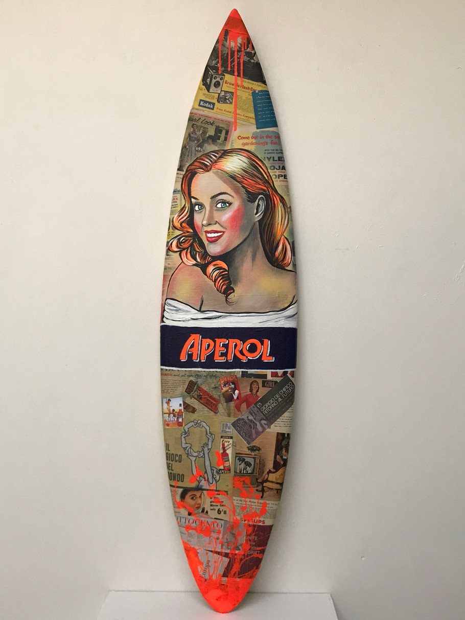 Charles Wilcox Surfboard Art