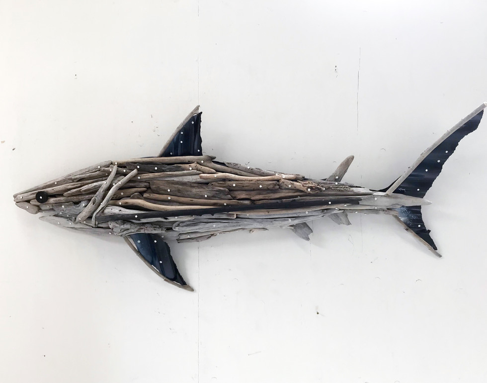 Charles Wilcox Driftwood Shark
