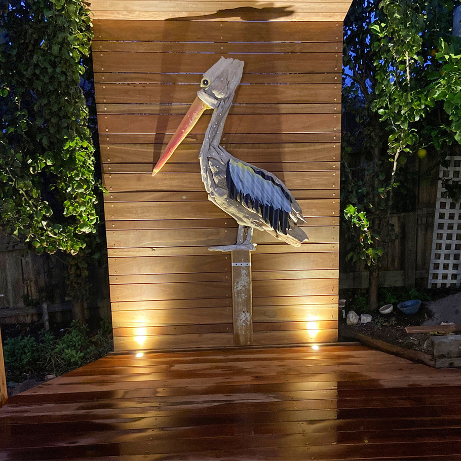 Charles Wilcox Driftwood Pelican