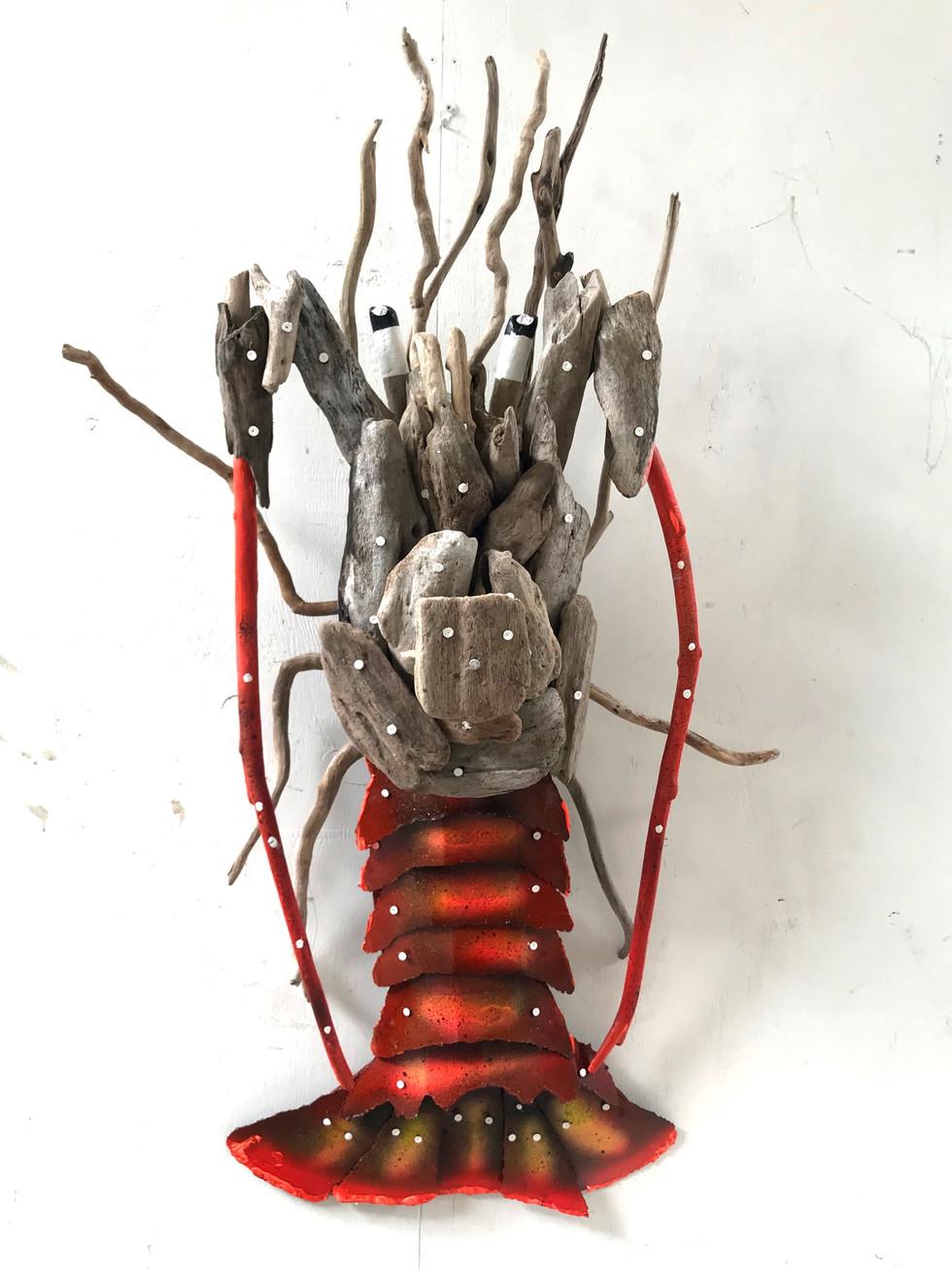 Charles Wilcox Driftwood Crayfish