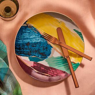 stilllife home tableware interior photo