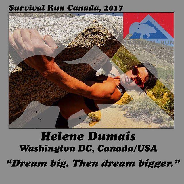 Survival Run Canada 2017 application accepted!