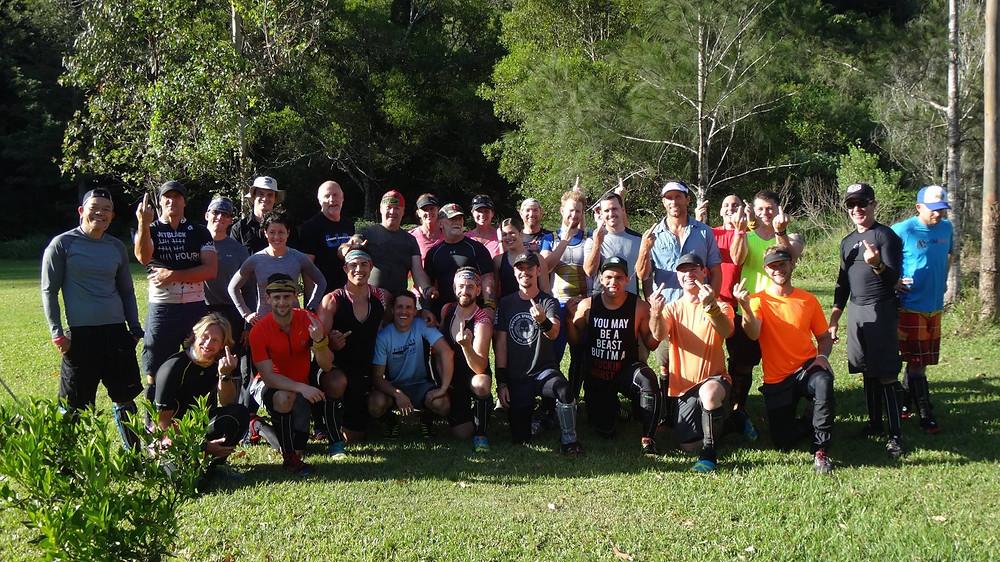 All Survival Runners before race start.