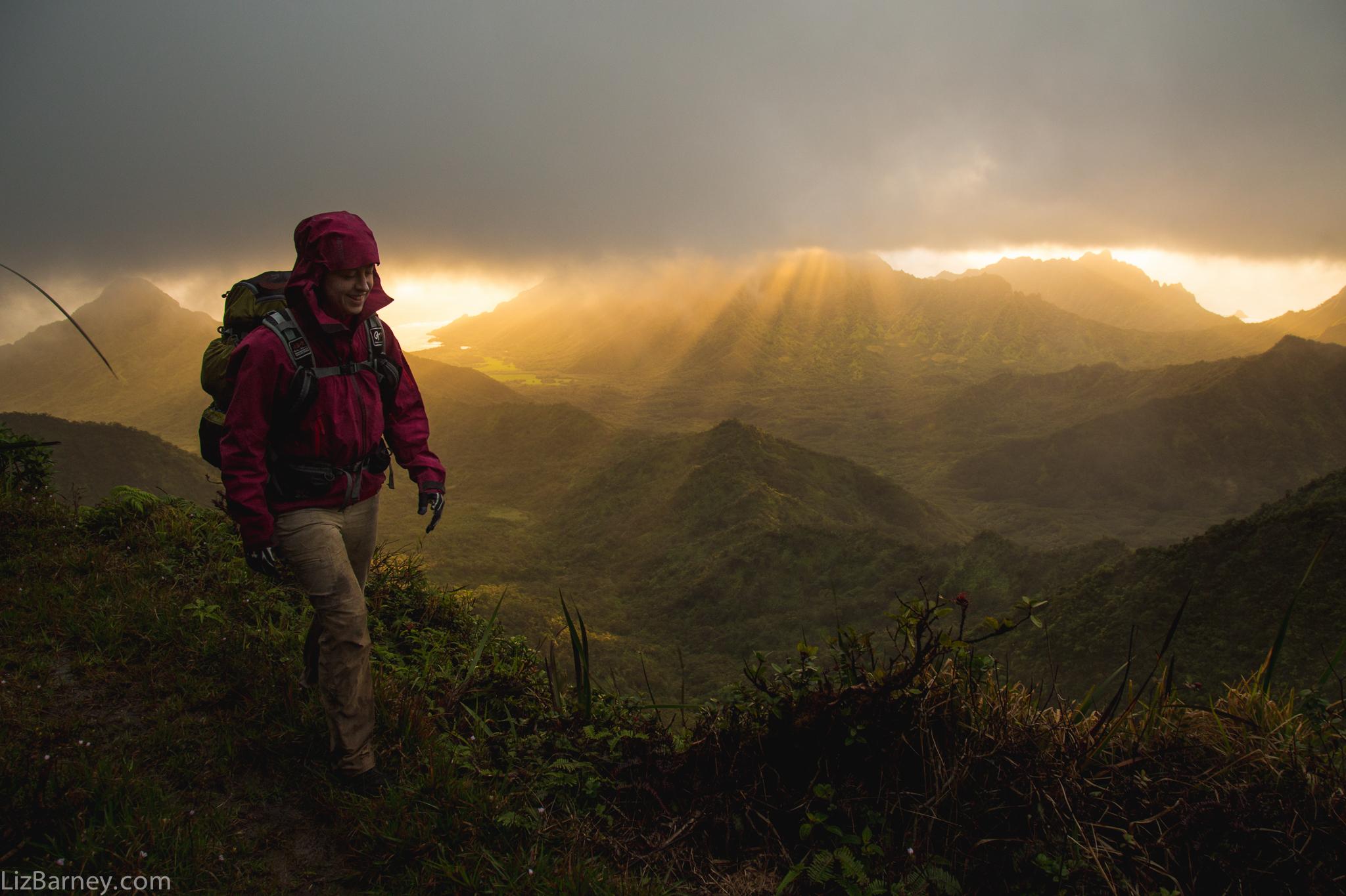 Expedition across O'ahu Island, Hawaii