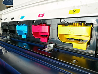 modern digital printing press, concept,