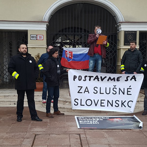 Postavme sa za slušné Slovensko.